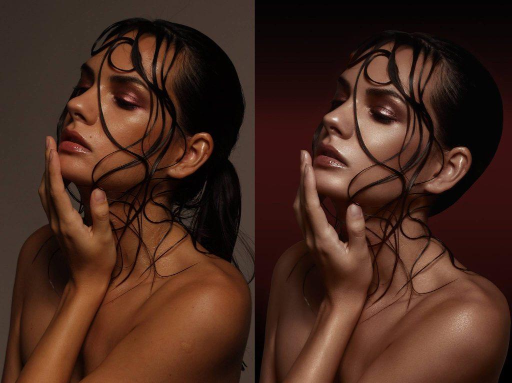 Beauty utómunka Photoshop használatával