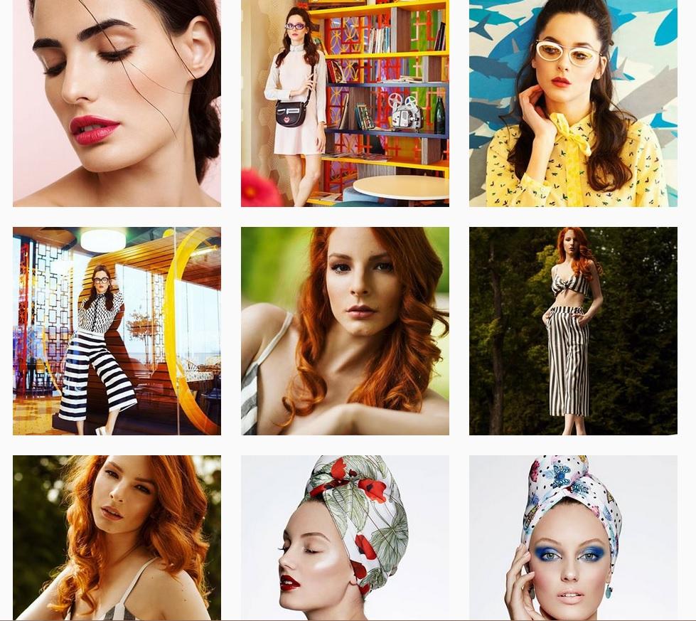 Virginia Yancheva reklám és divatfotós instagram